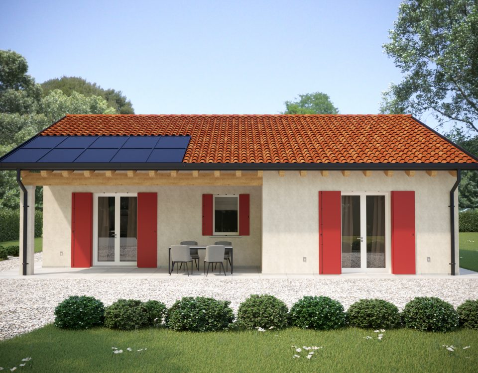 Casa prefabbricata LAURA - esterno 2