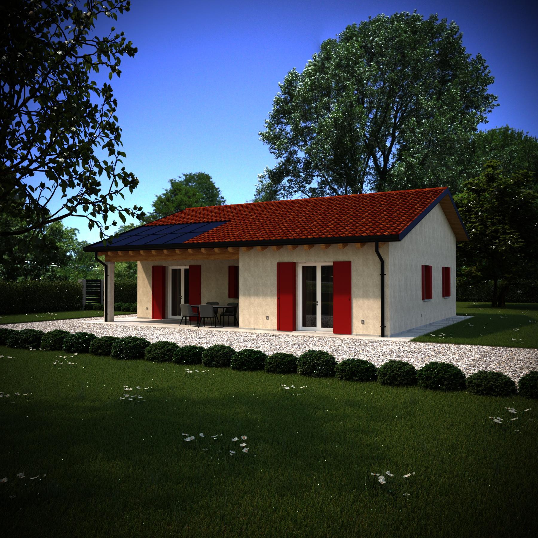 Casa prefabbricata LAURA - corona UozHouse